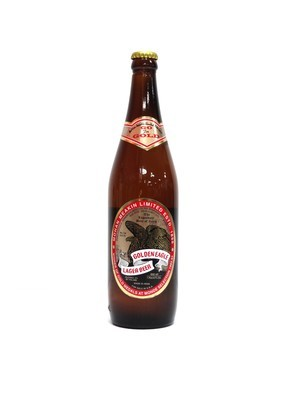 Golden Eagle Lager 22oz By Mohan Meakin (F4-6)/6
