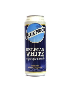 Belgian White By Blue Moon from Golden, CO 24oz Single Can (F3-4)C