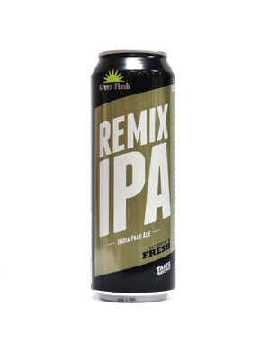 Remix IPA By Green Flash Brew from San Diego, CA 19.2oz Single Can (F3-2) C