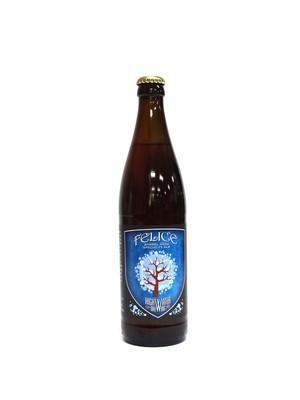 Felice Barrel Aged Specialty Ale By High Water Brew from San Jose, CA 22oz Single Bottle (F3-7) 2