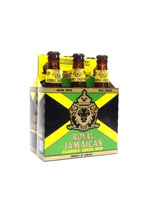 Ginger Beer by Royal Jamaican from Jamaica 12oz 6pk Bottle (F4-3) ABC