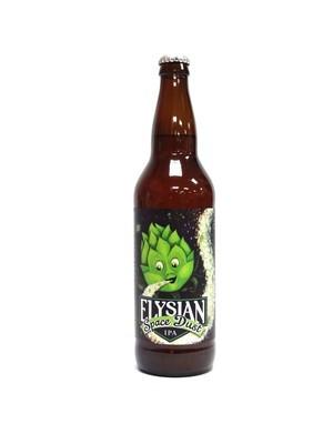 Space Dust IPA By Elysian Brew from Seattle, WA 22oz Single Bottle (F3-7) H