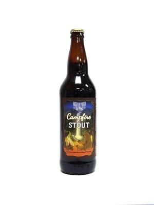 Campfire Stout By High Water Brew from San Jose, CA 22oz Single Bottle (F3-7) 2