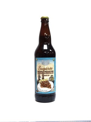 Sugaree Maple Pecan Pie By High Water Brew from San Jose, CA 22oz Single Bottle (F3-7) 2