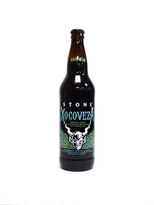 Xocoveza Imperial Stout By Stone Brew from Escondido, CA 22oz Single Bottle (F3-6) H