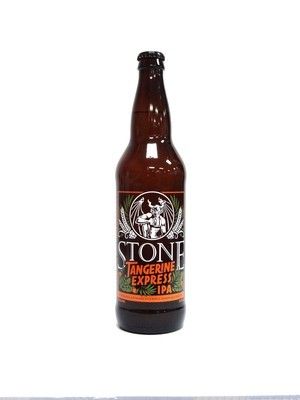 Tangerine Express IPA By Stone Brew from Escondido, CA 22oz Single Bottle (F3-6) H
