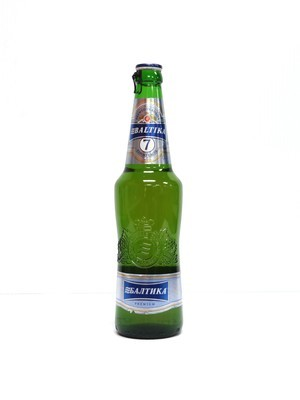 Baltika #7 Export Lager beer from Russia 15.89oz (F4-5)6
