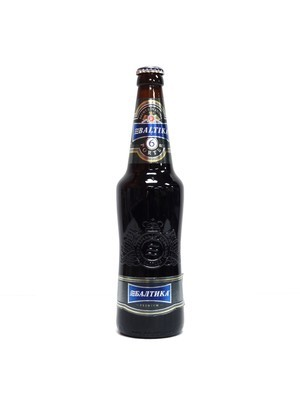 Baltika #6 Porter beer from Russia 15.89oz (F4-5)6