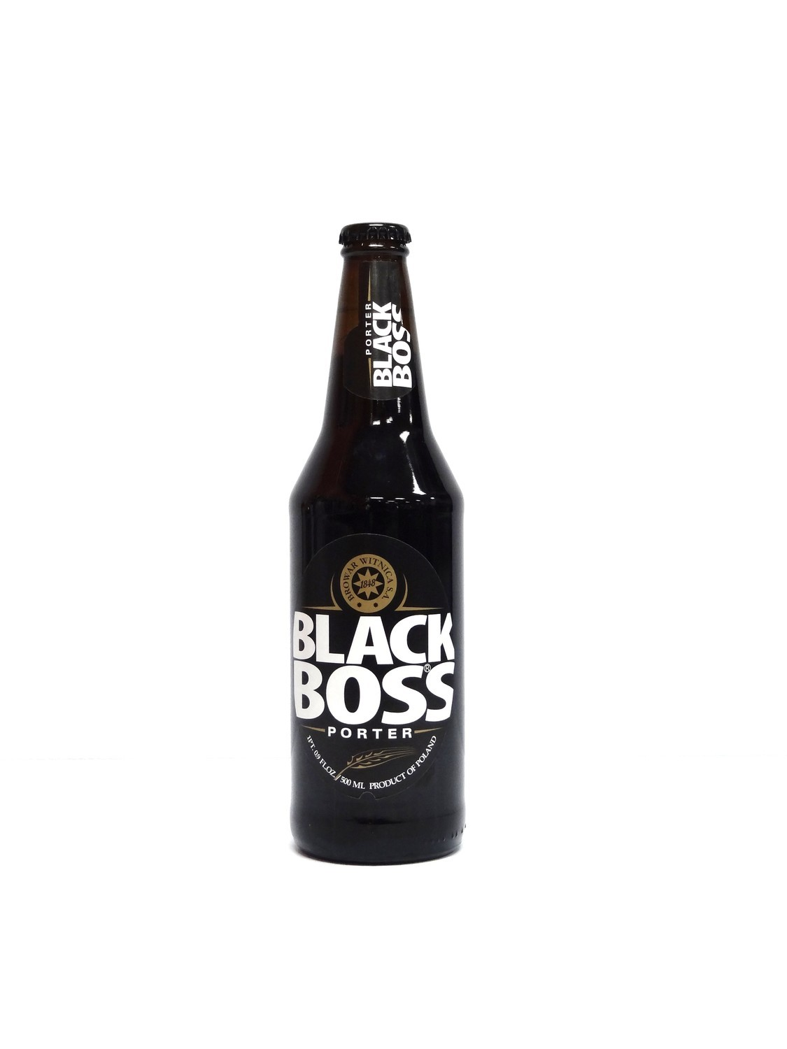 Black Boss Porter 16.9oz By Browar Witnica (F4-6)6