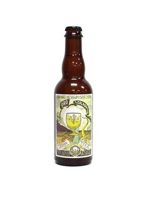 Oro De Calabaza Oak Aged Sour Biere By Jolly Pumpkin from Dexter, MI 12.7oz Single Bottle (F1-5)2