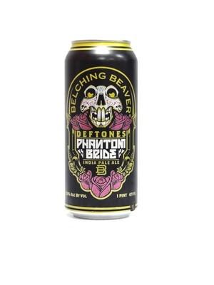 Deftones Phantom Bride IPA By Belching Beaver Brew from Ocean Side, CA 16oz Single can(F1-6)2