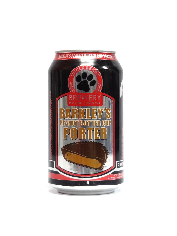 Barkley's Peanut Butter Cup Porter By Uncle Bear's Brew from Phoenix, AZ 12oz Single Can (F1-4)8