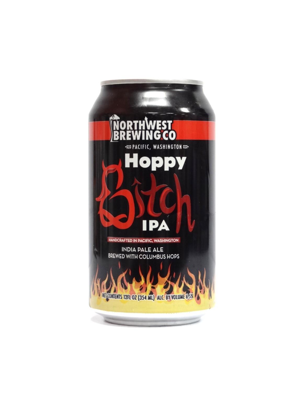 Hoppy Bitch IPA By Northwest Brew from Tukwila, Washington 12oz Single Can (F1-4)8