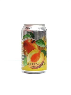 Apricot Hefeweizen by Wasatch Brew from Salt Lake City, UT 12oz 6pk Can (F8-1)C