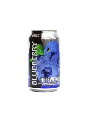Blueberry Hefeweizen by Wasatch Brew from Salt Lake City, UT 12oz 6pk Can (F8-1)C