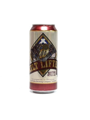 Kilt Lifter Scottish Style Ale By Four Peaks Brew from Tempe, AZ 16oz Single Can (F2-8) H