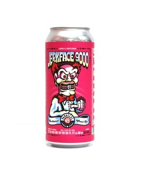 Jerkface 9000 Wheat Ale By Parallel 49 Brew from Vancouver, Canada 16oz Single Can (F2-5)6