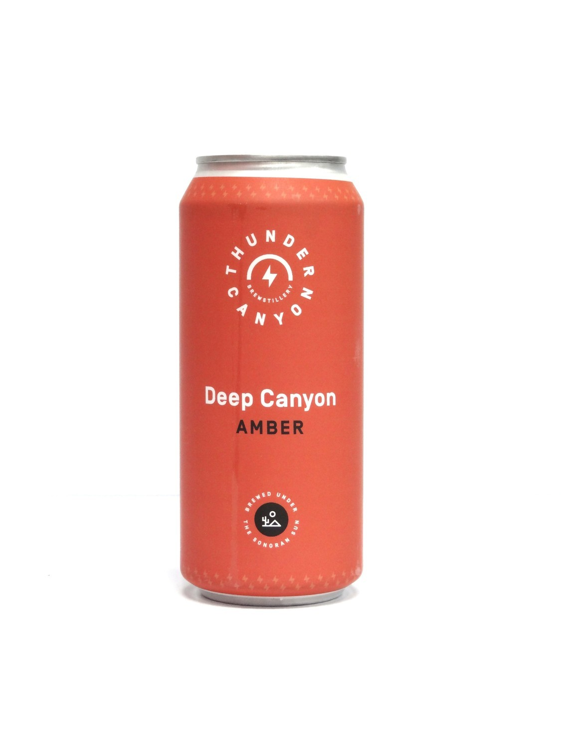 Deep Canyon Amber By Thunder Canyon Brew from Tucson, AZ 16oz Single Can (F2-6)