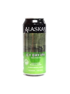 Icy Bay IPA by Alaskan Brew from Juneau, Alaska 16oz Single Can (F1-7)C