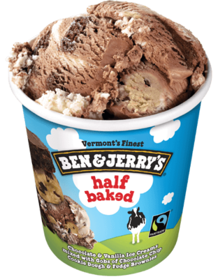 Ben & Jerry's Half Baked Ice Cream 1pint
