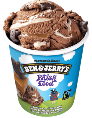Ben & Jerry's Phish Food Ice Cream 1pint