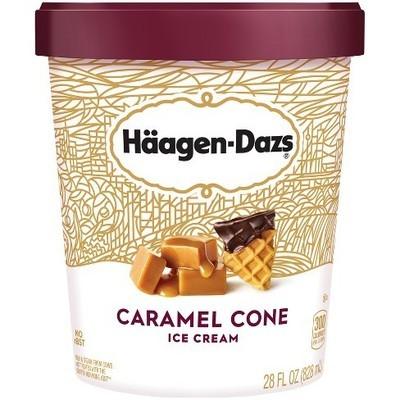 Haagen Dazs Caramel Cone 14oz