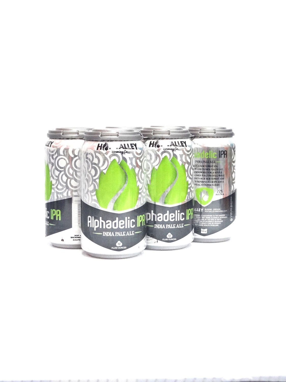 Alphadelic IPA 6pk/12oz By Hopvalley Brewing (F10-2)