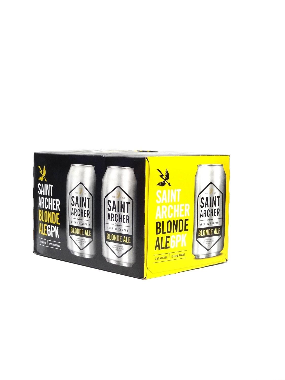 Blonde Ale 6pk/12oz By Saint Archer (F9-1)C