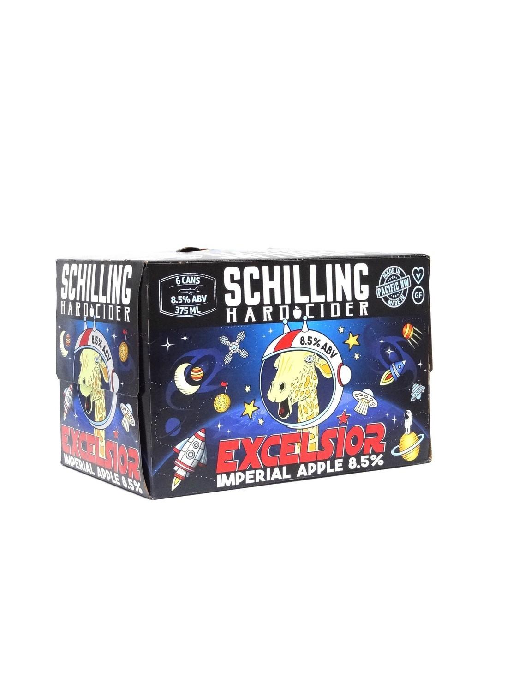 Schilling Hard Cider Excelsior Imperial Apple 6pk/12oz (F11-1)2