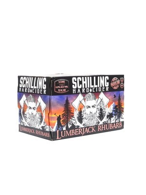 Schilling Hard Cider Lumberjack Rhubarb 6pk/12oz (F11-1)2