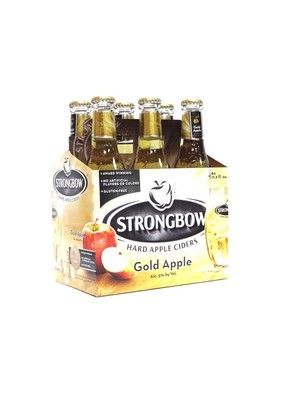 Gold Apple Hard Apple Cider 6pk/11.2oz By Strongbow (F13-3)C