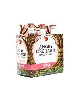 Rose Hard Cider 6pk/12oz By Angry Orchard (F12-3)C