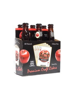 Apple Craft Cider 6pk/12oz By Ace California (F12-4)H