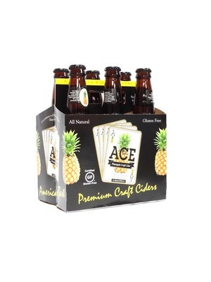 Pineapple Craft Cider 6pk/12oz By Ace California (F12-4)H