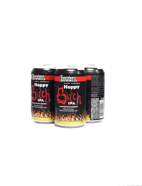 Hoppy Bitch IPA By Northwest Brew from Tukwila, Washington 12oz 4pk Can (R)8