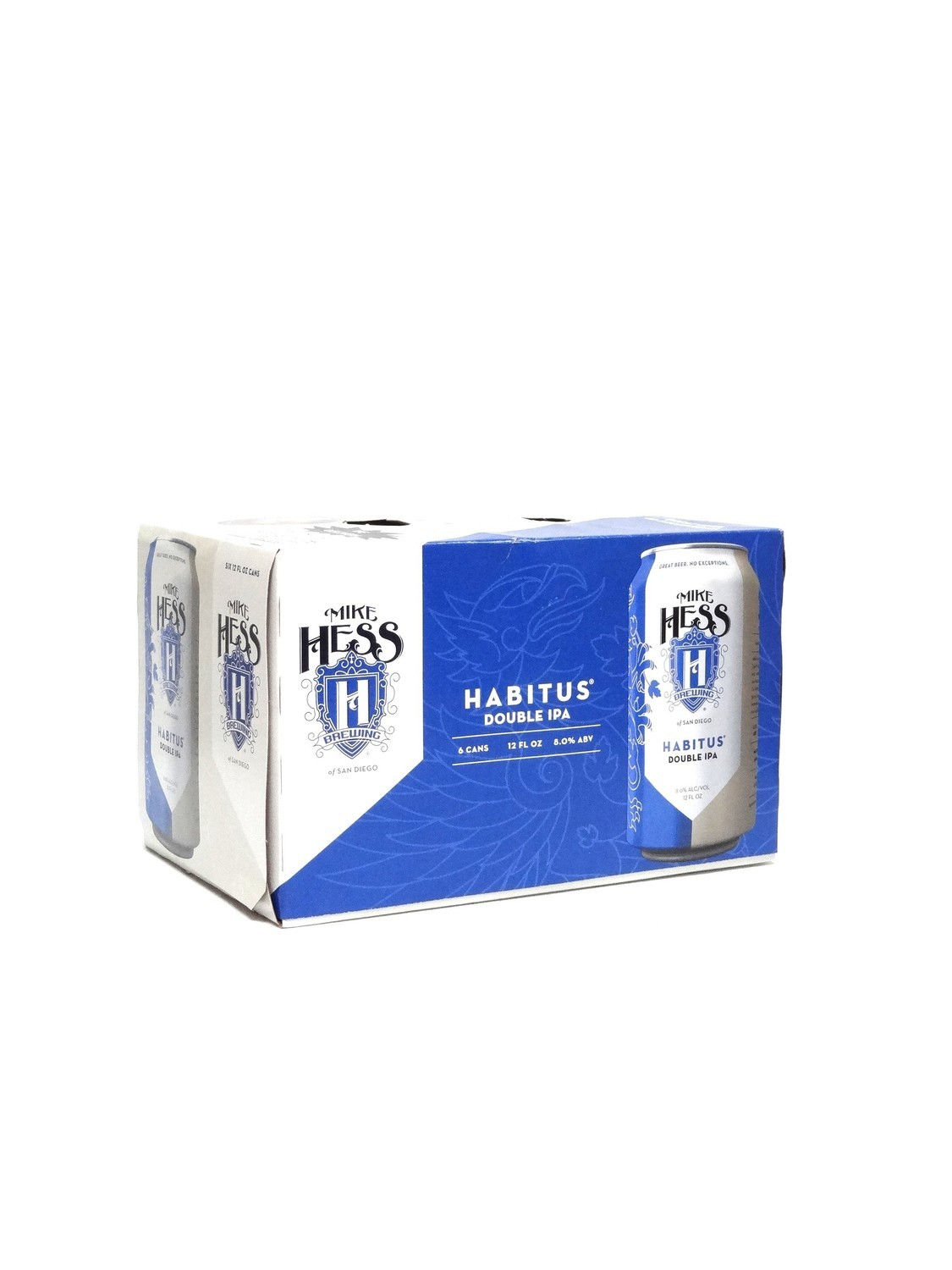 Habitus Double IPA 6pk/12oz By Mike Hess Brewing (F10-1)C