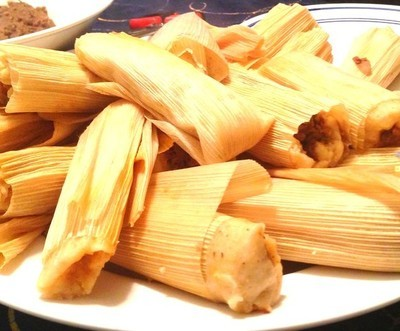 Chicken Tamale In Green Sauce