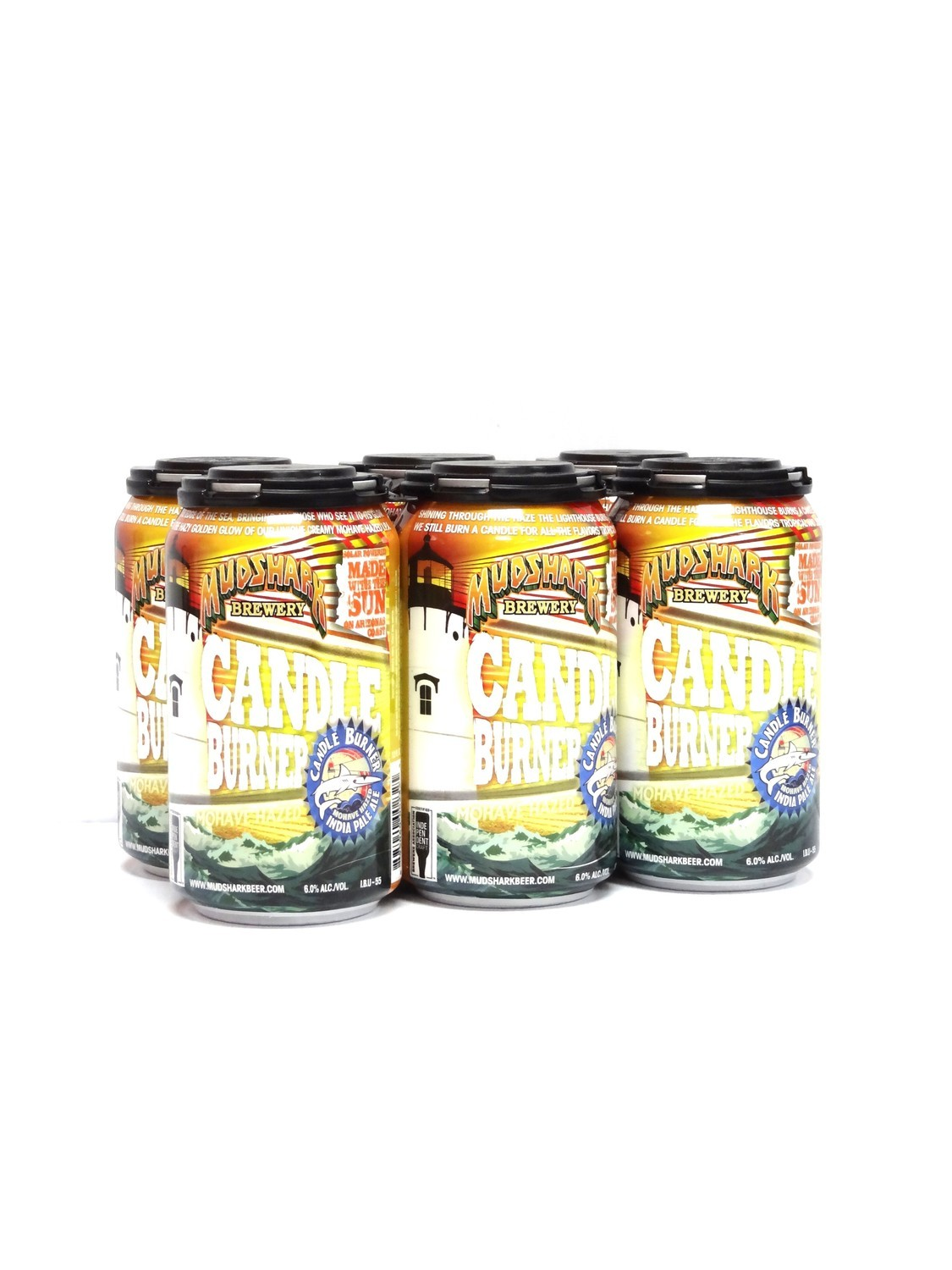 Candle Burner IPA 6pk/12oz By Mudshark Brewery (F6-4) H