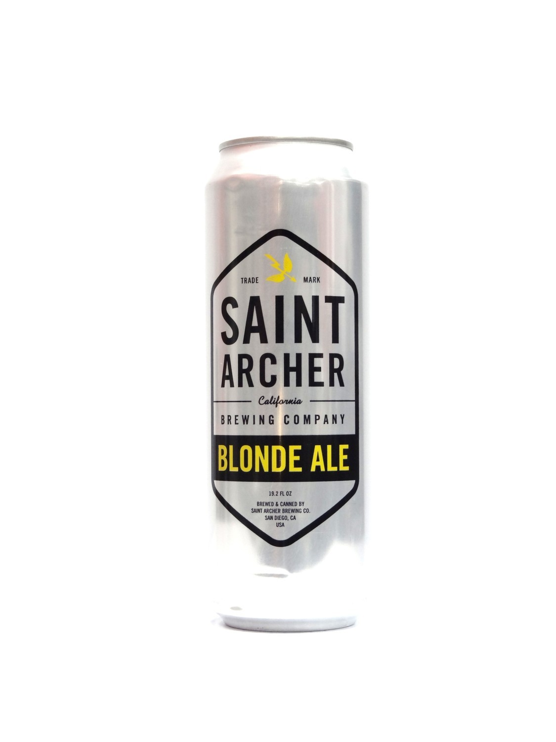 Blonde Ale By Saint Archer from San Diego, CA 19.2oz Single Can (F3-2)C