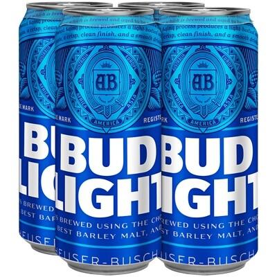 Bud Light 4pk/16oz Cans (F16-1)