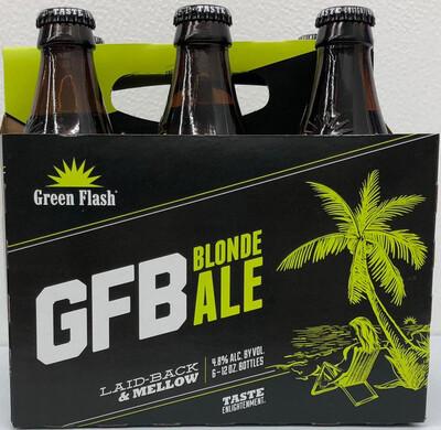 GFB Blonde Ale By Green Flash Brew from San Diego, CA 12oz 6pk Bottle ()C