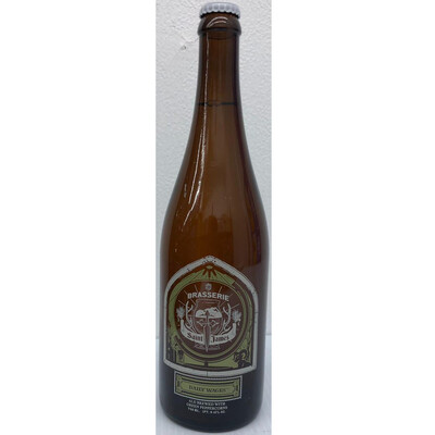 Daily Wages Saison By  Brasserie Saint James From Reno, NV 750ml Bottle () 2