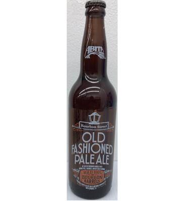 Bourbon Street Old Fashioned Pale Ale Aged In Bourbon Barrels by Abita From Abita Springs, LA 22oz Single Bottle ()C
