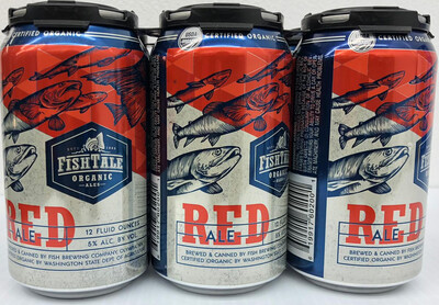 Red Ale 12oz By FishTale Organic 6pk Can (F3-4)6
