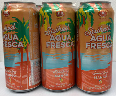 Spiked Agua Fresca Sparkling Mango By Golden Road Brew from Los Angeles, CA 16oz 6pk Can ()H