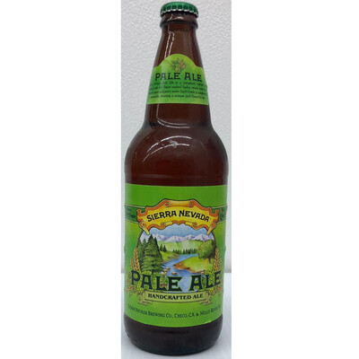 Pale Ale Handcrafted By Sierra Nevada from Chico, CA 24oz Single Bottle (F3-7) H