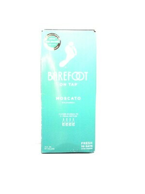 Barefoot on Tap Moscato by Barefoot Cellars from Modesto, CA 3 Lit (C10-1) 9