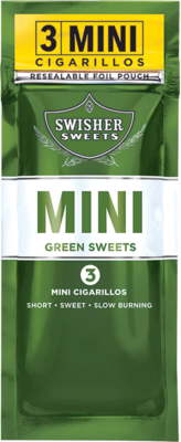 Swisher Sweets 3 Mini Green Sweets Cigarillos ()