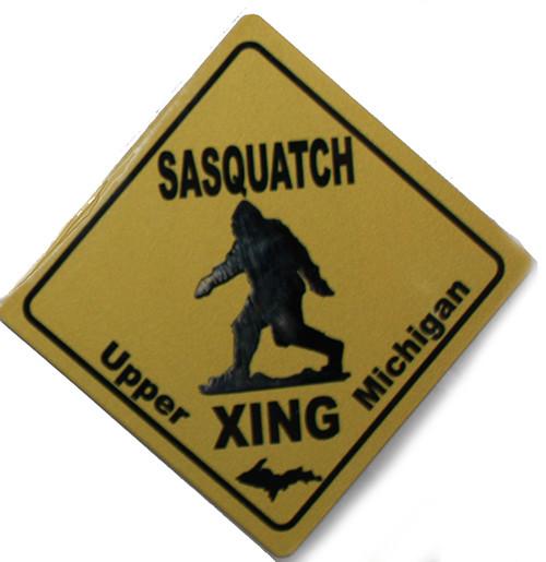 Sasquatch Xing Magnet