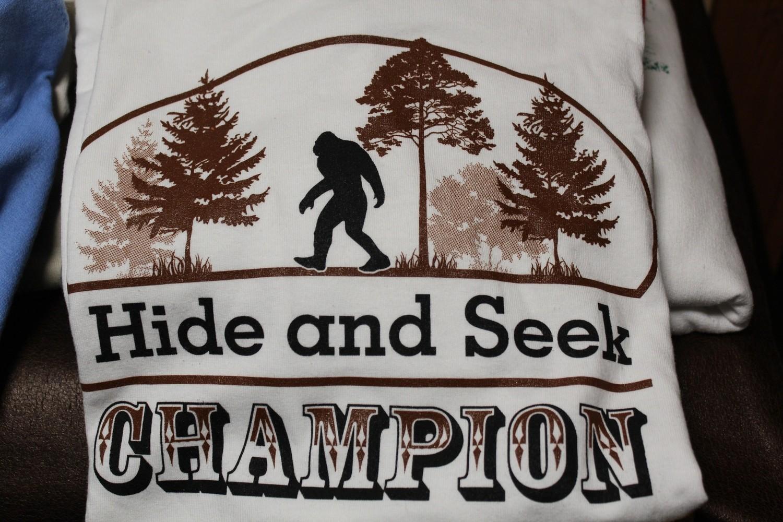 Hide and Seek Champion Brown T-shirt